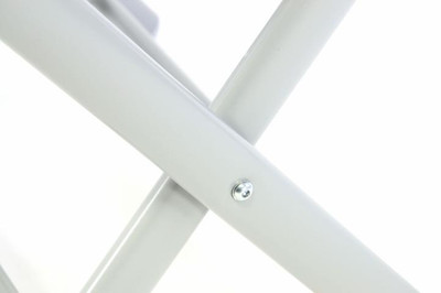 Alu Hocker Sitzhocker Aluminium – Bild 5