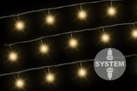 diLED 40er LED Lichterkette für Aussen warmweiss erweiterbar Lichterkette System 001
