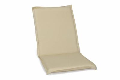 Stuhlauflage Stuhl Auflage für Klappstuhl natur