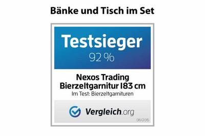 2x Klappbank Bierbank Campingbank 183 cm – Bild 6