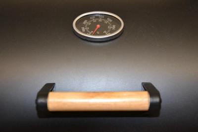 Smoker BBQ Grill Grillwagen Holzkohlegrill Kamingrill XL 32 kg – Bild 6