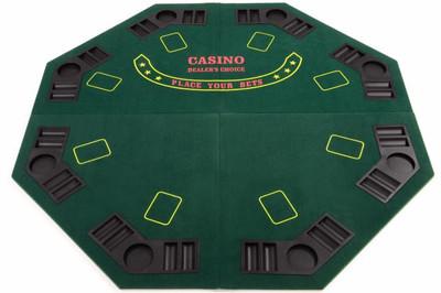 Faltbare Tischauflage Pokertisch Casino Pokerauflage #2 – Bild 1