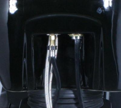 Rückwärtswaschsessel schwarz – Bild 3