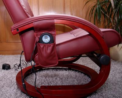 Massage-Fernsehsessel Relaxsessel Pescatori II, Massagefunktion ~ bordeaux – Bild 4