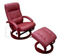 Massage-Fernsehsessel Relaxsessel Pescatori II, Massagefunktion ~ bordeaux 001
