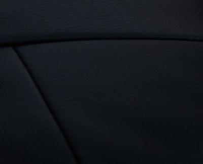 Relaxsessel Fernsehsessel Sessel mit Hocker M56 Kunstleder ~ schwarz – Bild 4