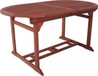 Tisch STOCKHOLM, ausziehbar, oval, geölt 001