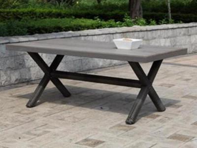 Tisch ANZIO, rechteckig