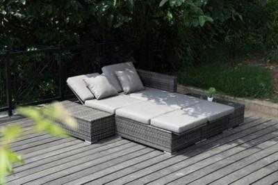 doppel sonnenliege alu. Black Bedroom Furniture Sets. Home Design Ideas