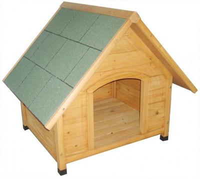 LAGERABVERKAUF!!! Hundehütte PFIFFI aus Holz