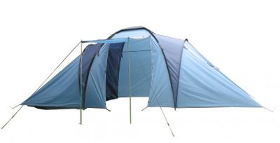 LAGERABVERKAUF!!! Campingzelt für 6 Pers. blau