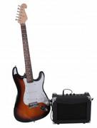 E-Gitarre mit Verstärker, 15 Watt 001