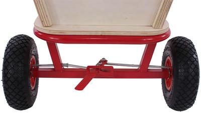 Bollerwagen Handwagen Leiterwagen Oliveira ~ ohne Sitz, mit Bremse, ohne Dach – Bild 2