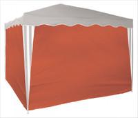 Seitenverkleidung für Faltpavillon 3x3 m | 4 Stück-Terracotta 001