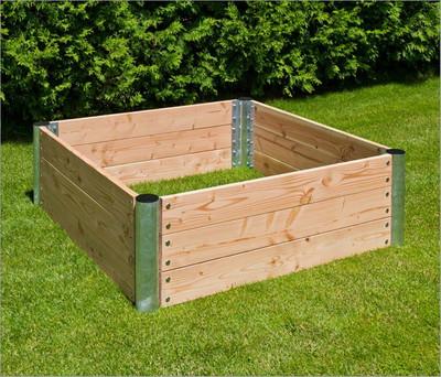 "Hochbeet Holz ""Premium"" quadratisch | 45 cm"