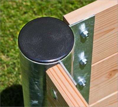 "Hochbeet Holz ""Premium"" quadratisch   45 cm – Bild 4"