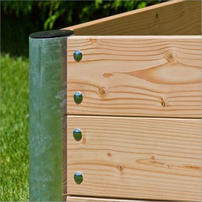 "Hochbeet Holz ""Premium"" quadratisch   45 cm – Bild 6"