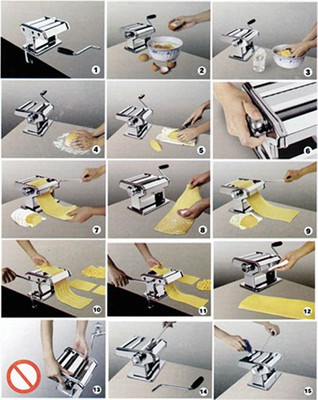 Pasta Maschine 3 in 1 – Bild 5