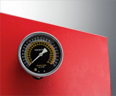 Werkstattpresse 50t DL + Manometer  – Bild 3