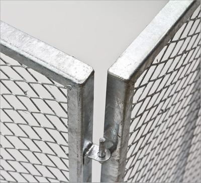 Metallkomposter 107x107x82cm vollverzinkt – Bild 4