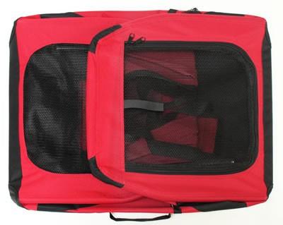 Hundebox Katzenbox rot 70x52x52cm – Bild 4