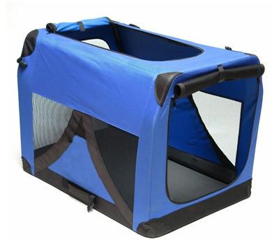 Hundebox Katzenbox XXL blau 91,4x63,5x63,5cm – Bild 1