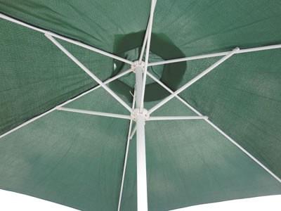 Kurbel Sonnenschirm Action 3m grün – Bild 3