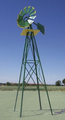 Deko Garten Windrad ø 550mm, grün – Bild 2