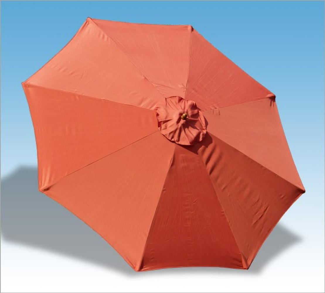 Holz Sonnenschirm Terracotta Bei Arizondo Kaufen