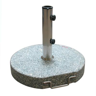 Sonnenschirmständer rund Ø 45 Granit grau 30 kg