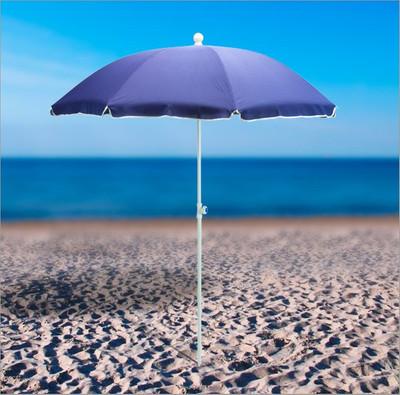 Strandschirm blau 180 / UV30