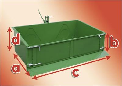 Heckcontainer FSL 180 cm, grün  – Bild 5