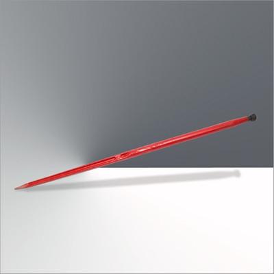 Frontladerzinken 28 x 1,5 / 1400 mm, rot lackiert