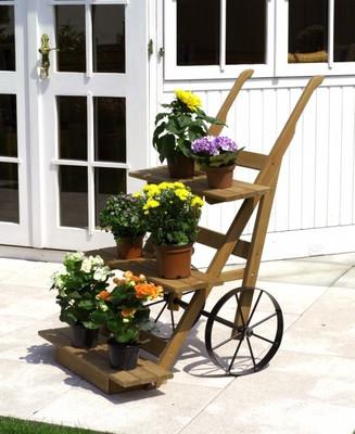 Blumenkarre