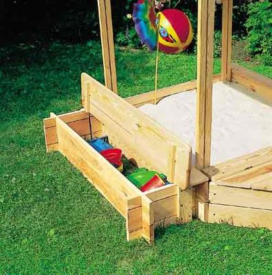 """Sitz- und Bugbox für Sandkasten """"Peter"""" – Bild 3"""
