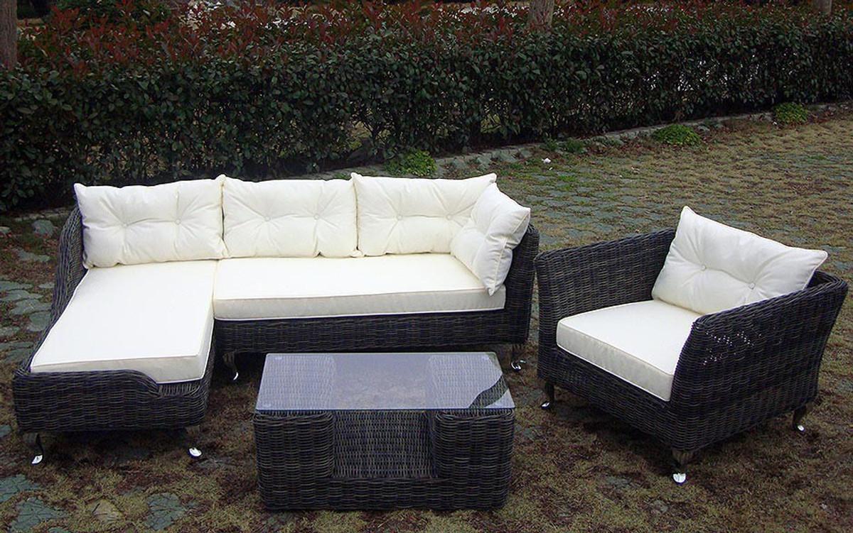 Garten garnitur romance bei arizondo kaufen for Garten lounge garnitur