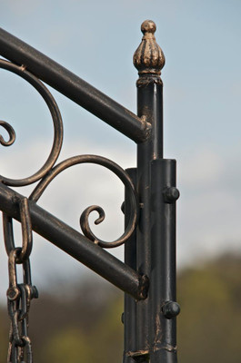 Gartenschaukel Ylenia bronze – Bild 4