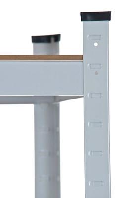 Steckregal 90x40x220 weiss – Bild 3