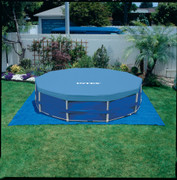 METAL FRAME POOL COVER DURCHMESSER 549 CM 001