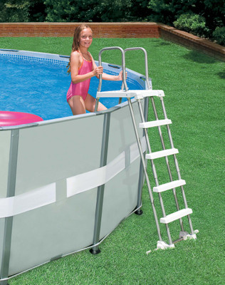POOL LADDER W/REMOVABLE STEPS NEU, 28074 ALT: 58971