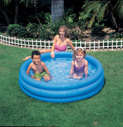 CRYSTAL BLUE POOL, 3-RING, AGES 3+, SHELF BOX 001