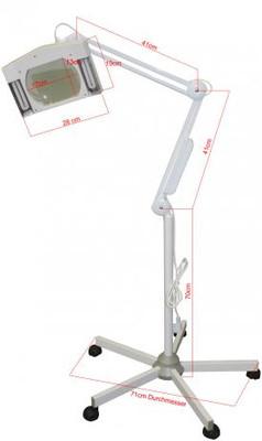Lupenlampe mit Stativ – Bild 4