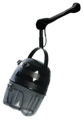 Trockenhaube Equator 3000 Wandarm schwarz