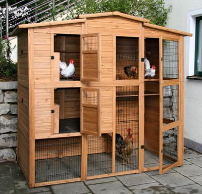 Hühnerhaus 222 x 115 x 200 cm – Bild 2