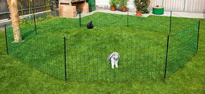Kaninchennetz 50mtr, 65 cm Einzelspitze, grün – Bild 1
