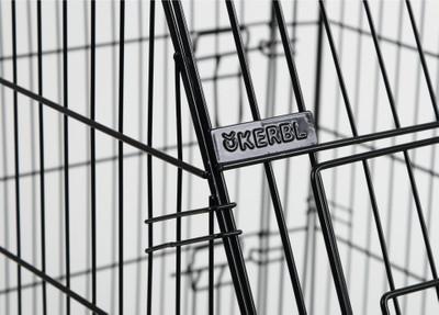 Gittertransportbox, klappbar, schwarz, 107x74x85cm, 2 Türen – Bild 4