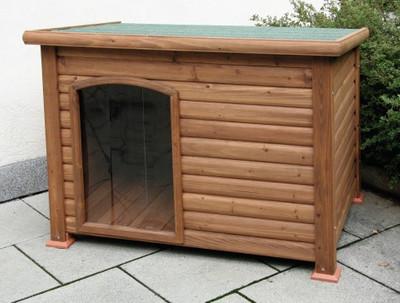 Hundehütte mit Terrasse – Bild 3