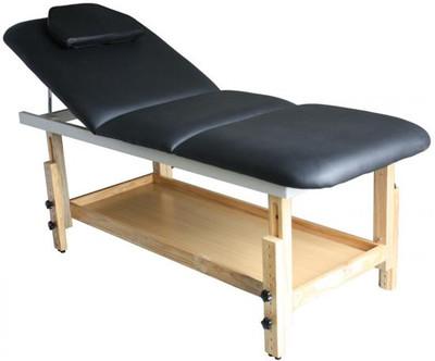 Kosmetikliege - Massageliege - Behandlungsliege schwarz