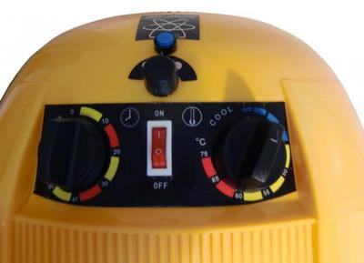 Trockenhaube 1100W 3-Regler gelb – Bild 4