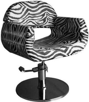 Design Coiffeurstuhl im Zebra - Design B-Ware – Bild 1